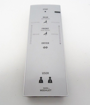Toto Washlet C200 Remote Control