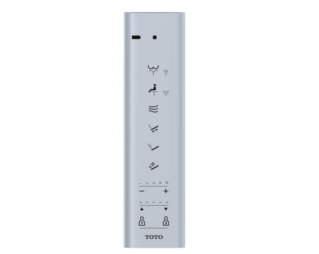 Toto S500e S550e remote control